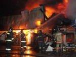 Moskvada  bazar yandı