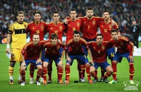 AVRO-2012: İspaniya millisinin yekun heyəti açıqlandı