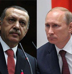 Türkiyənin baş naziri Ərdoğanla  Ruisya prezidenti  Putin telefonla danışdı