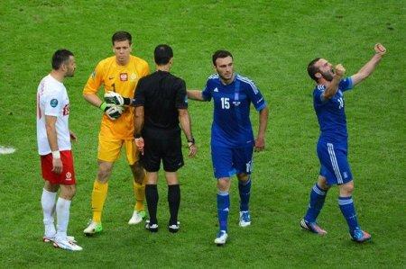 Polşa-Yunanıstan oyunu 1:1 hesabi ilə başa çatdı