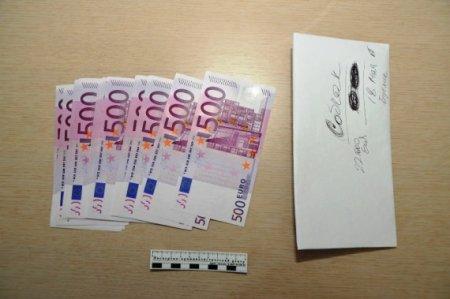 Polis Sobçakdan götürülən pulların  şəklini yaydı