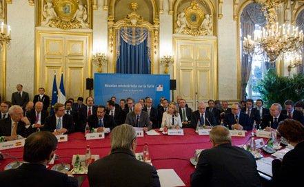 """Parisdə """"Suriyanın dostları qrupu""""nun  konfransı başlandı"""