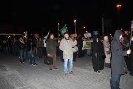Istanbulda   jurnalistlər  ayağa qalxdı