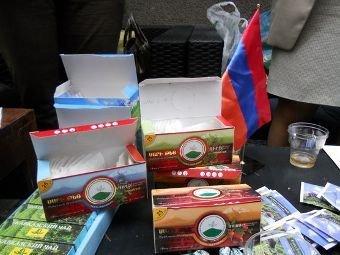 Moskvada ermənilər çay anbarına oğurluğa girəndə yaxalandılar