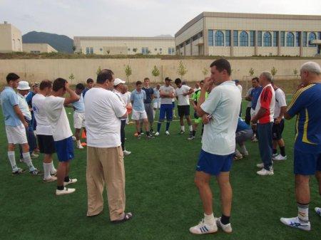 Oğuzda  futbol seminarı keçirilib (FOTO)