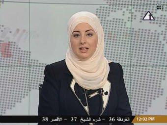 50 ildən sonra  ilk dəfə Misir televiziyasında   teleaparıcı hicablı qadın