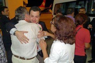 Livanda qaçırılan türk iş adamı   azad edildi