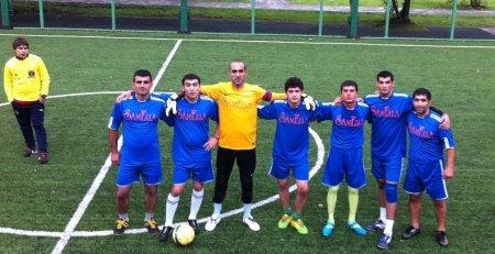 """Moskvada """"Həzi Aslanov"""" futbol turnirinin  II turu keçirildi"""