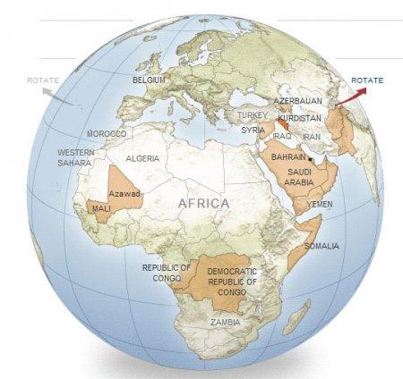 Əvvəl Amerika indi də Avropa Kürdüstan xəritəsini paylaşdı