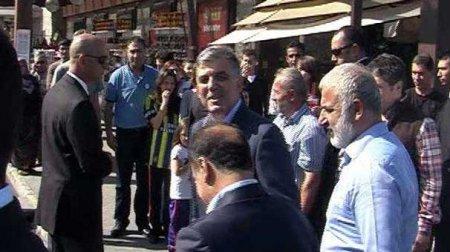 """Türkiyə prezidenti  """"Fenerbaxça""""  köynəyi geymiş qıza """"söz atdı"""""""