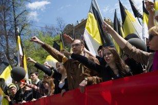 """Moskvanın mərkəzində """"Rus marşı""""  başlanıb"""