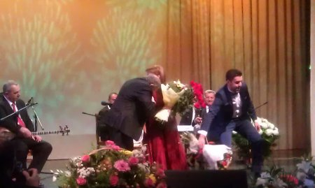 Moskvada  Xalq artisti Mələkxanım Əyyubovanın möhtəşəm konserti oldu