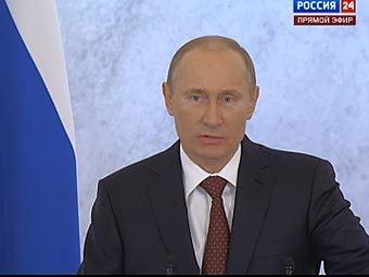 Putin  Federal yığıncaqda çıxış edib
