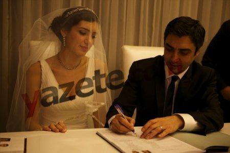 Necati Şaşmaz evləndi