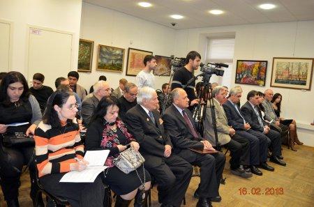 AYB-nin Moskva bölməsinin 10 illik yubileyi Moskvada qeyd edildi (FOTOLAR)