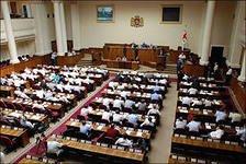 """Gürcüstan parlamenti  Rusiya ilə diplomatik münasibətlərə """"xaç"""" çəkdi"""