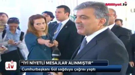 Türkiyə prezidenti Abdulla Gül Gezi Park olayıyla bağlı açıqlama verdi