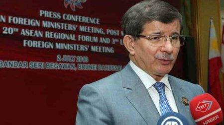 """Davutoğlu: """"Misirdəki çevriliş qəbuledilməzdir""""-dedi"""