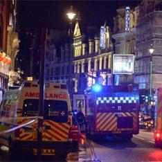 London teatrının  tavanı  uçdu