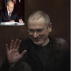 Putin xod  etdi: Xodorkovski azadlıqda