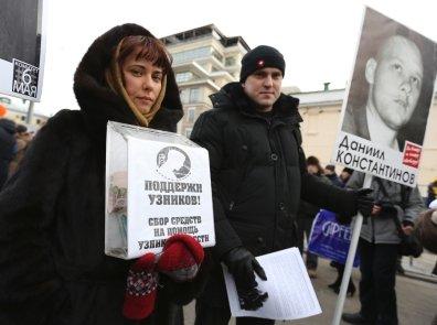 """Moskva müxalifəti   """"Bolotnı məhbusları""""na görə yürüş keçirir"""