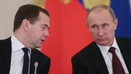 Putin və Medvedevin maaşı artdı