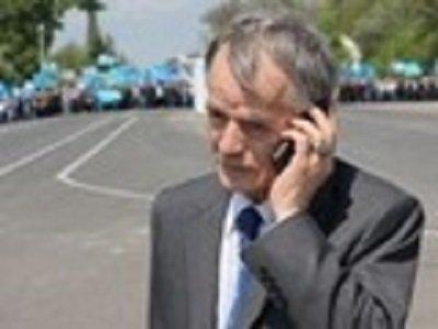 Rusiya höküməti  tatar lideri Mustafa Cəmilyevi Krıma buraxmır