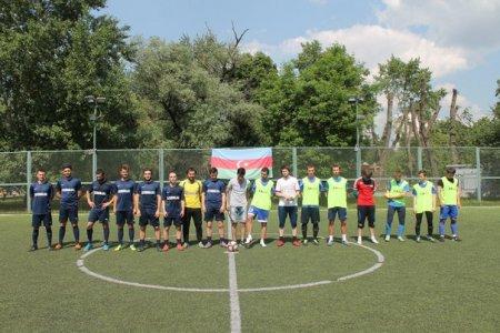 """Moskvada """"Müstəqillik kuboku"""" futbol turniri keçirilib"""