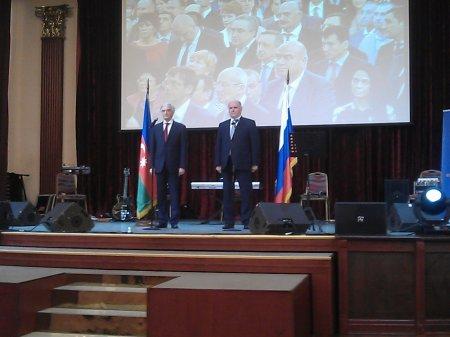 Cümhuriyyət tariximizin ildönümü Moskvada təntənəli şəkildə qeyd edildi (FOTO)