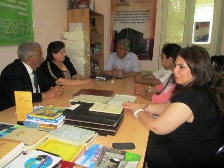 SAMF Ağdam Çörək Muzeyinin yaradıcılarını bir araya gətirdi