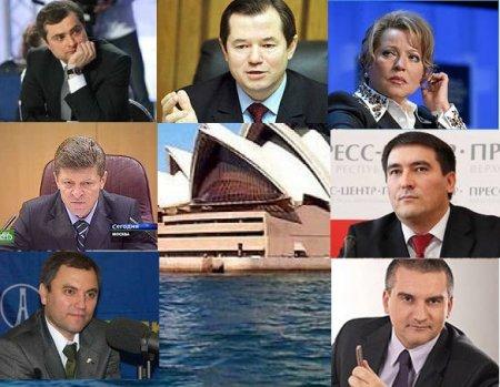 Avstraliya  50 rus və ukraynalıya sanksiya tətbiq etdi