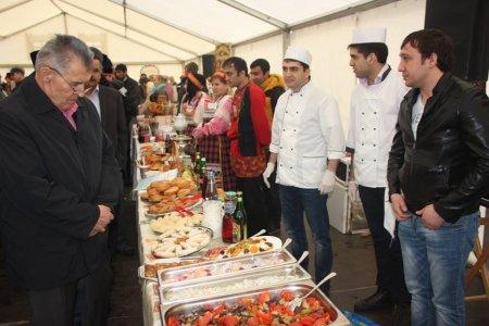 Moskvanın  Gül bayramında  Azərbaycan milli mətbəxi nümayiş olundu