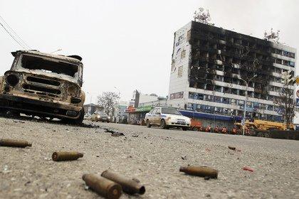 Qroznıda hüquq müdafiəçilərinin  ofisi yandırıldı