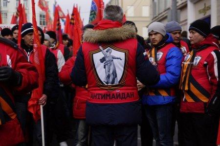 """Moskvada """"Maydan """" """"Antimaydan"""" la yad edilir"""