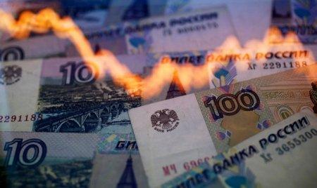 Rubl üzüaşağı üzür... Moskva birjalarında rublun antirekordu