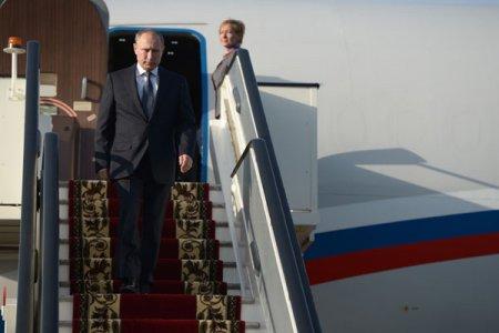 Putin  qaz ixrac edən ölkələrin  forumunda iştirak etmək üçün  Tehrana gedib