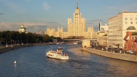 Moskvada  yüksəkliyə Ukrayna bayrağı sancıldı