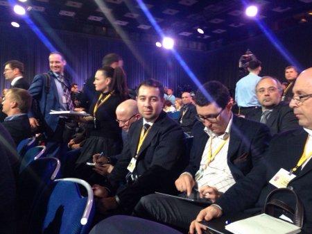 Azərbaycanlı jurnalistlər Putinin böyük mətbuat-konfransında FOTO
