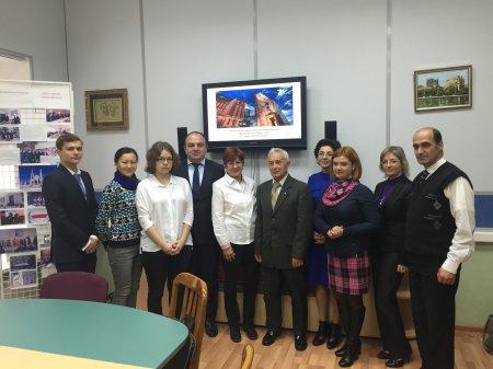 МГЛУ прошел круглый стол на тему «Толерантность как образ жизни азербайджанского народа и ее отражение в фольклоре»