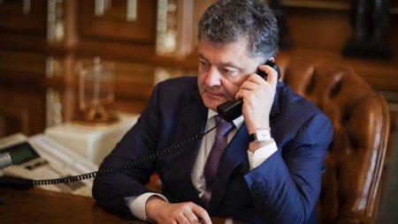 Poroşenko Trampla ilk telefon söhbətində Krım və Donbass məsələsini qaldırıb