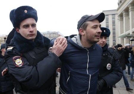 """Moskvada """"müxalifət gəzintisi"""" aksiyasında 30 nəfər saxlanıldı"""