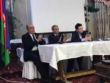 """Moskvada  """"Döyüş gündəliyi-Talış"""" sənədli filminin təqdimatı oldu - FOTO"""