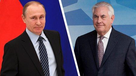 Putinin Tillerson və Lavrovla görüşü başa catıb