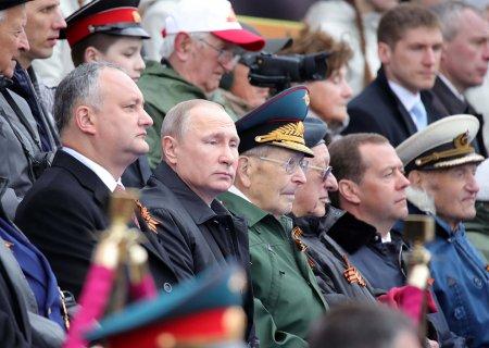 Kreml QƏLƏBƏ nümayişində xarici liderlərin olmaması səbəbini  açıqlayıb