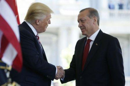 Trampla Erdoğanın ilk görüşü 20 dəqiqə sürüb