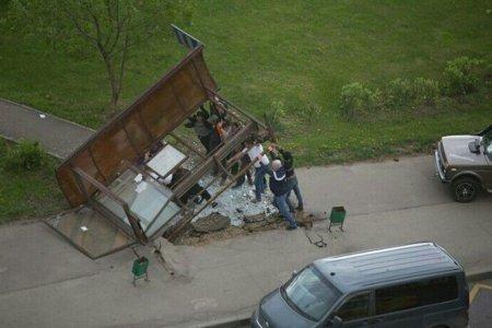 Moskvada güclü qasırğada  ölənlər və xəsarət alanlar var -  FOTOLAR