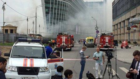 Moskvada Kiyev vağzalı meydanındakı yanğında  2  nəfər ölüb