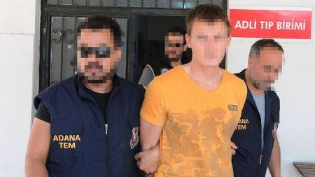 Türkiyədə terrora cəhddə şübhəli bilinən  rusiyalı  saxlanıldı