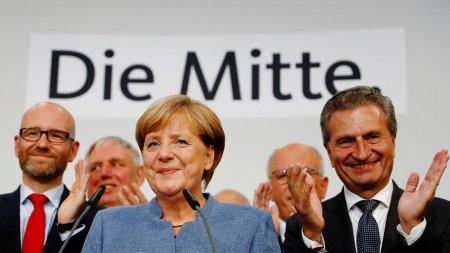 Almaniyada  Angela Merkelin bloku 4-cü dəfə seçildi