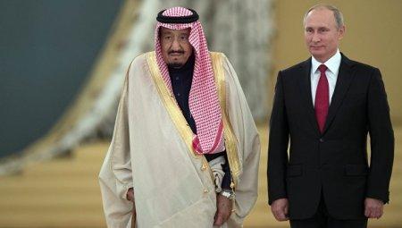 Putin Səudiyyə Ərəbistanı kralının Moskvaya səfərini mühüm hadisə adlandırdı